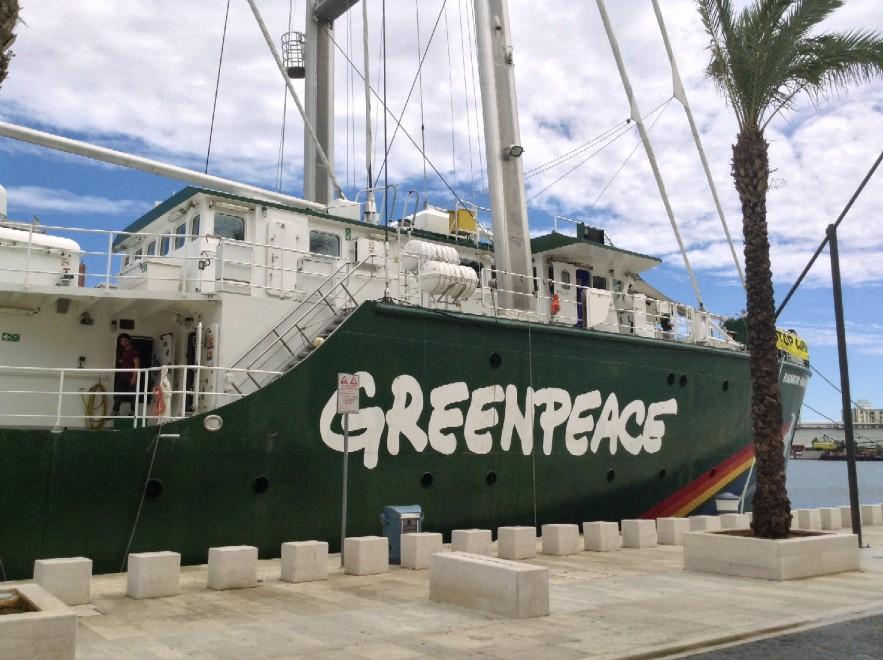 Carbone - GreenPeace a Porto Tolle