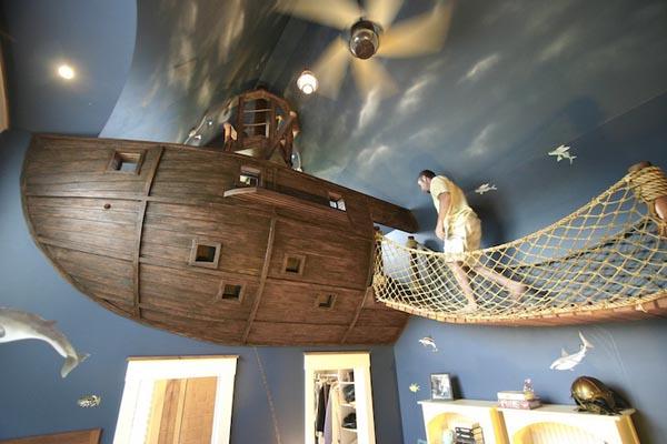La cameretta dei Pirati