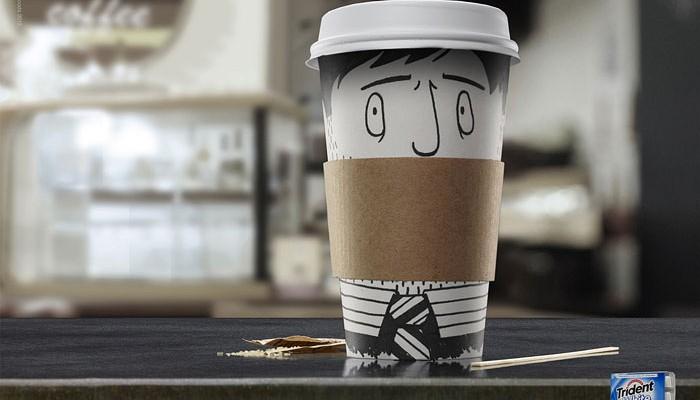 Trident White & Coffee ADV