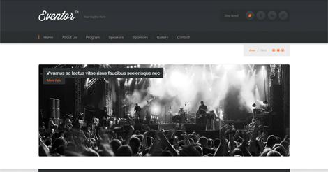 Eventor – Event Management WordPress Theme