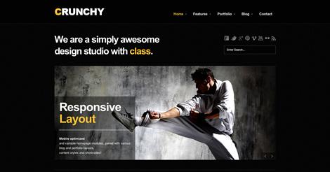 Crunchy Responsive Creative WordPress Theme