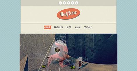 Halftone – WordPress Theme