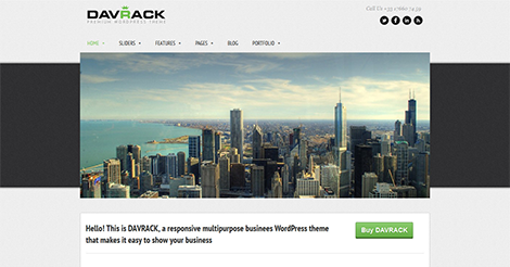 Davrack – Multipurpose Responsive WordPress Theme