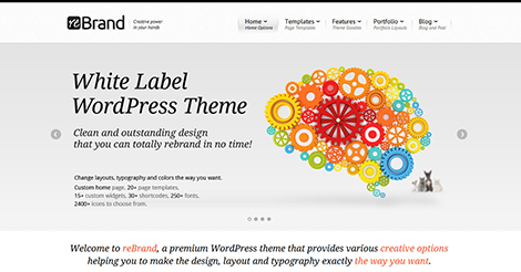 ReBrand – Business and Magazine WordPress Theme
