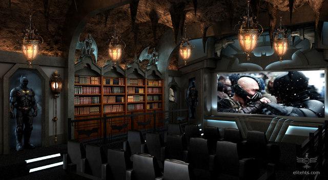 The Dark Knight Batcave Movie Theater
