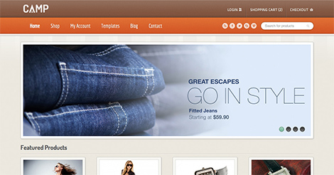 Camp – Responsive eCommerce Theme