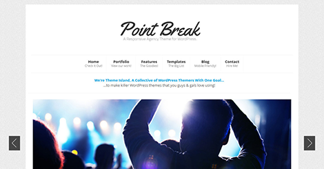 Point Break: Responsive Agency Theme