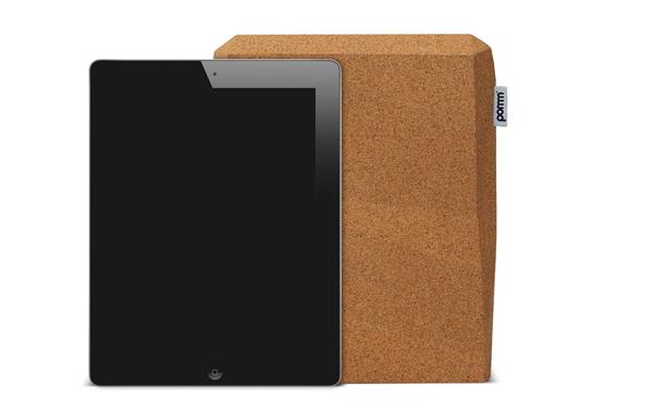 iCork: custodia per iPad in sughero!