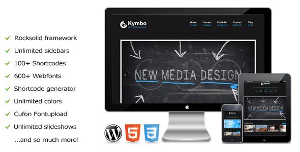 Kymbo – a premium WordPress Theme
