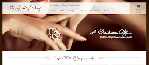 Jewelry Shop – Wordress/Woocommerce Theme