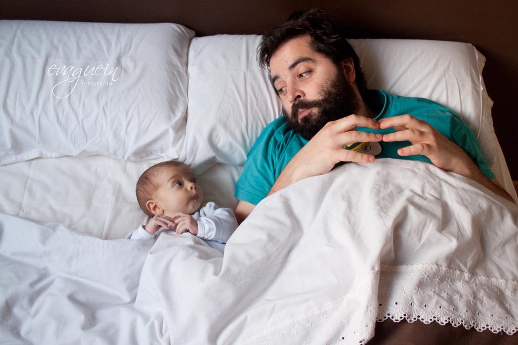 I papà e i loro bebè