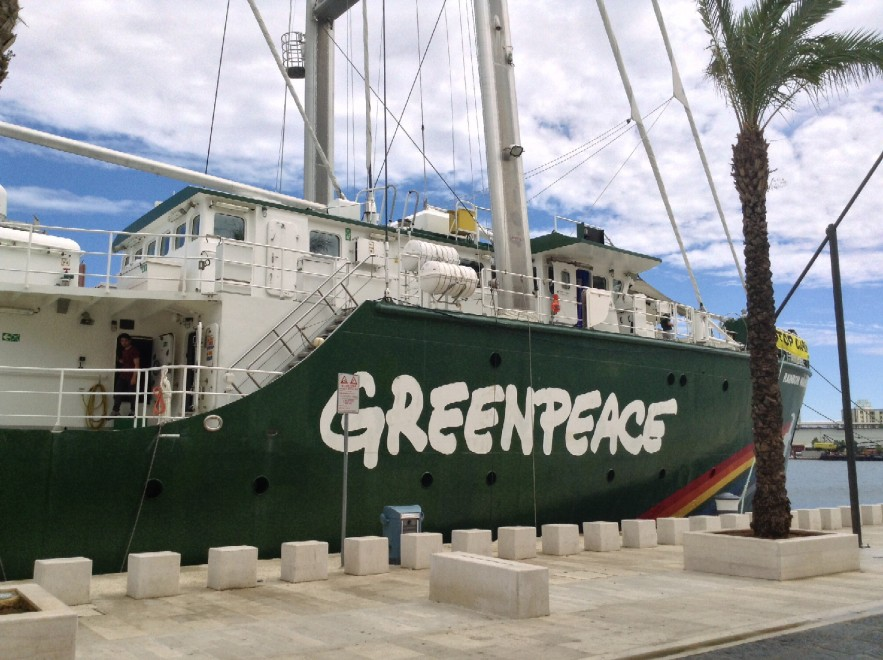 Carbone – GreenPeace a Porto Tolle