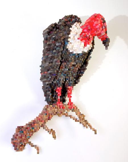 Pixelated Sculptures