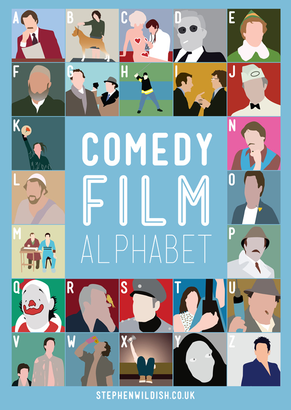 Comedy Movie Alphabet Game!
