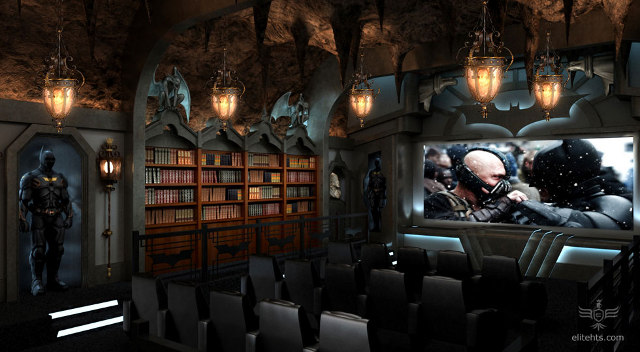 The Dark Knight Batcave Movie Theater