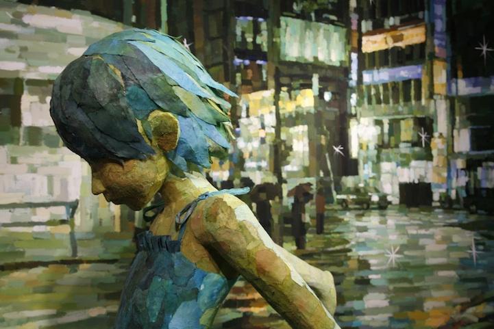 Dipinti 3D di Shintaro Ohata