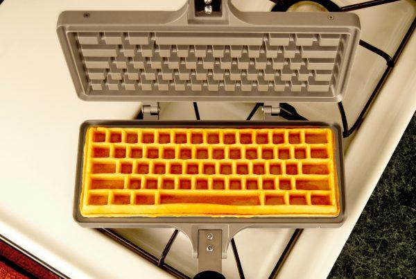 Keyboard Waffle