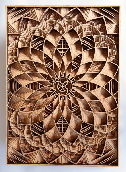 Sculture di legno di Gabriel Shama